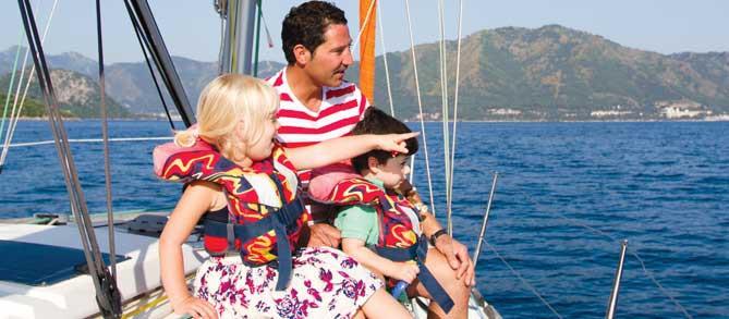 famiglie e gruppi corsi di vela