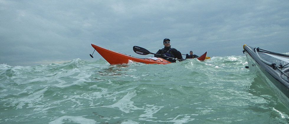 corso kayak pagaia azzurra grugnola